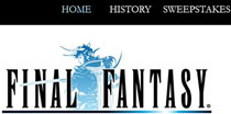 Final Fantasy Promotional Website